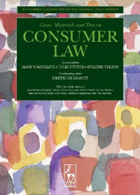 Consumer Law: Ius Commune Casebooks for a Common Law of Europe
