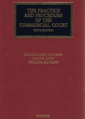Practice and Procedure Commercial Court (6ed)