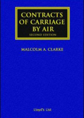 Contracts of Carriage by Air (2ed)