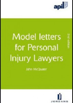 APIL Model Letters for Personal Injury Lawyers (3ed)