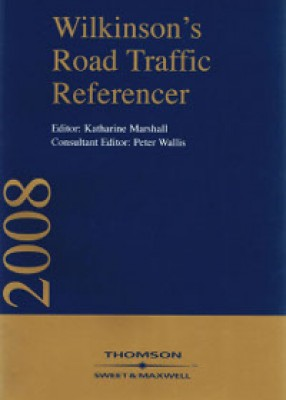 Wilkinson's Road Traffic Referencer 2008