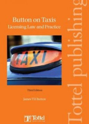 Button on Taxis: Licensing Law & Practice (3ed)