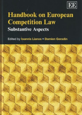 Handbook On European Competition Law (vol1): Substantive Aspects