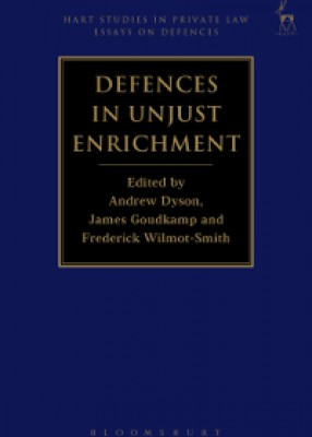 Defences in Unjust Enrichment