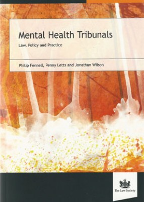 Mental Health Tribunals Law & Practice