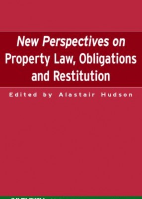 New Perspectives on Property Law, Obligations & Restitution