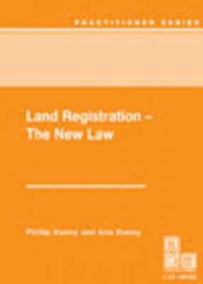 Land Registration - The New Law
