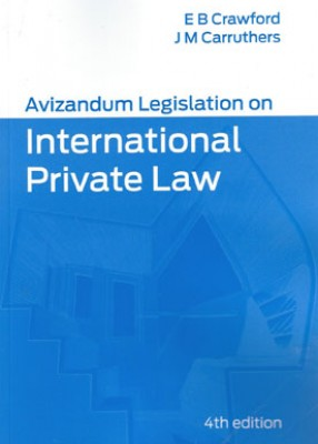 Avizandum Legislation on International Private Law (4ed)