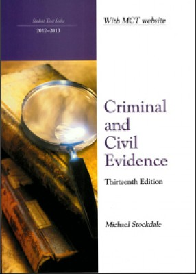 Criminal and Civil Evidence (13ed)