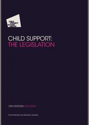 CPAG Child Support: The Legislation (13ed)