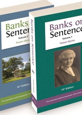 Banks on Sentence (14ed) (2 Volume Set)