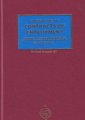 Contracts of Employment: Law, Practice & Precedents (4ed)