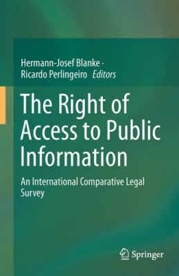 Right of Access to Public Information: An International Comparative Legal Survey
