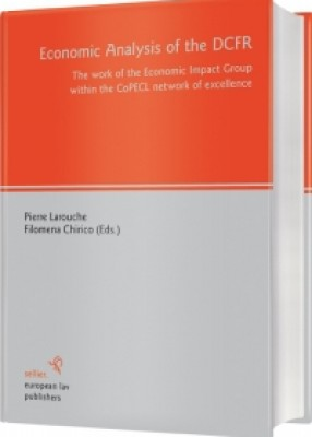 Economic Analysis of the DCFR: The Work of the Economic Impact Group within CoPECL