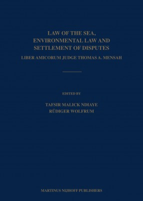 Law of the Sea, Environmental Law & Settlement of Disputes