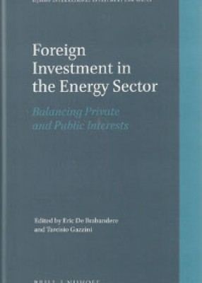 Foreign Investment in the Energy Sector: Balancing Private and Public Interests