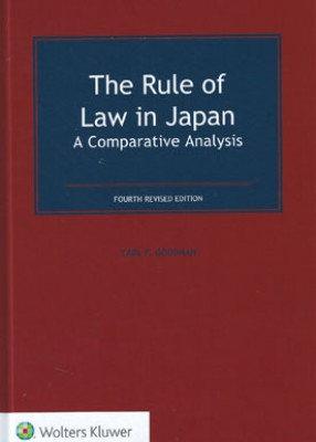 Rule of Law in Japan: A Comparative Analysis (4ed)