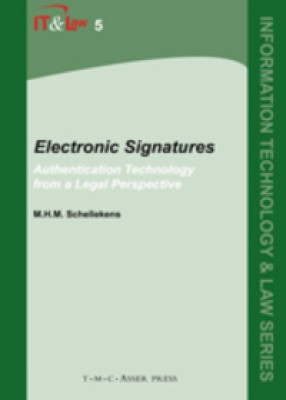 Electronic Signatures: Authentication Technology from a Legal Perspective (Vol 5)