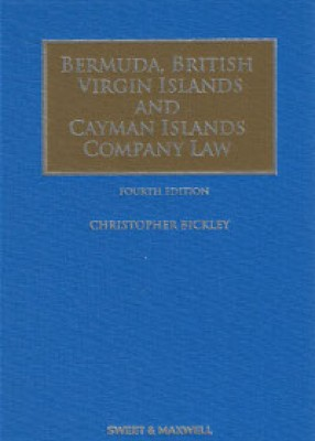 Bermuda, British Virgin Islands and Cayman Islands Company Law (4ed)