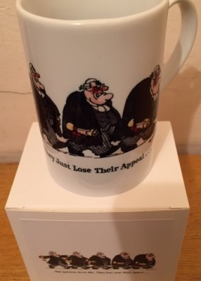Old Lawyer Mug